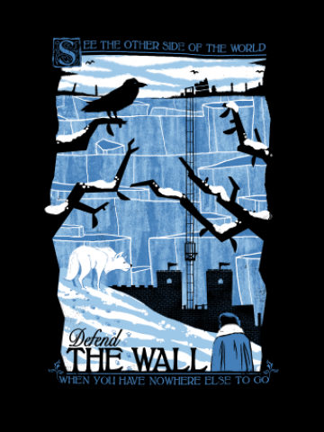 See the wall - Game of Thrones