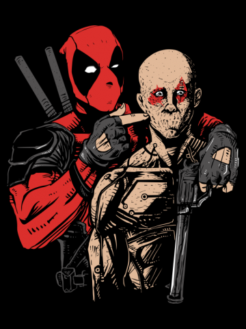 Shut up - Deadpool