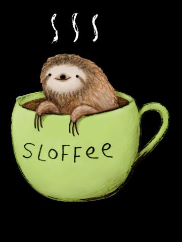 Sloths-sloth- sloffee