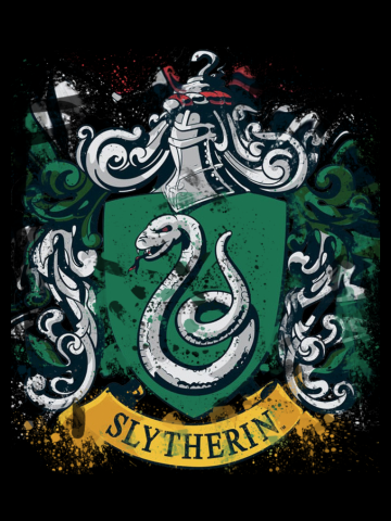Slytherlin Splatter Crest