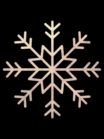 Snow illustration for Christmas