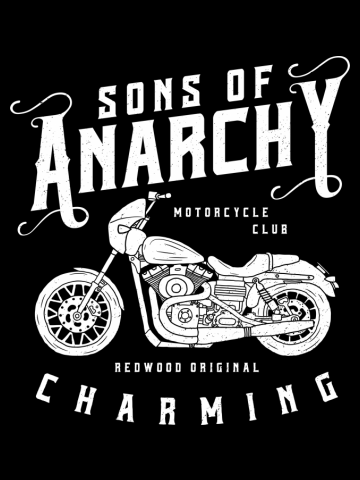 Sons Of Anarchy Motorcycle Club (White Version)