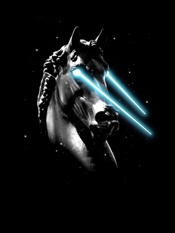 Space Age Horse