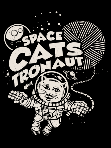 Space Catstronaut