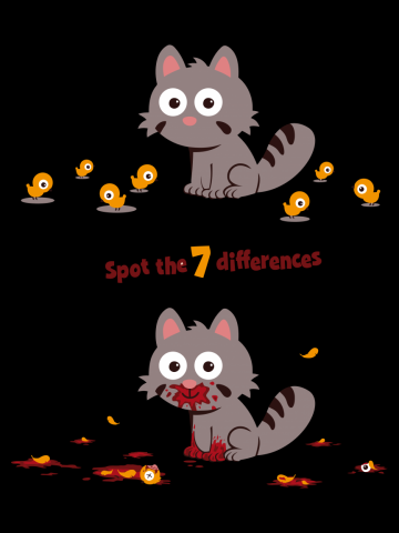 Spot the 7 differences