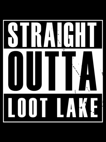 Straight outta Loot Lake Fortnite