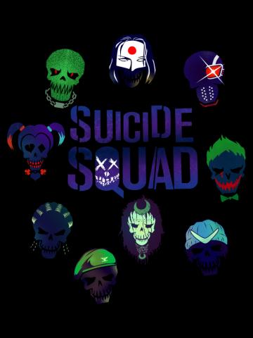 Suicide Squad emojis