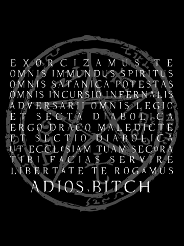 Supernatural - Exorcism - Adios Bitch