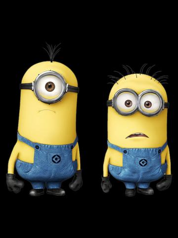 Surprised Minions