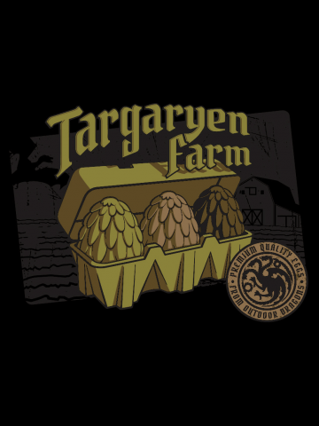 Targaryen farm eggs - Game of Thrones