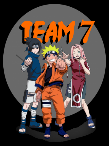 Team 7 Naruto Anime