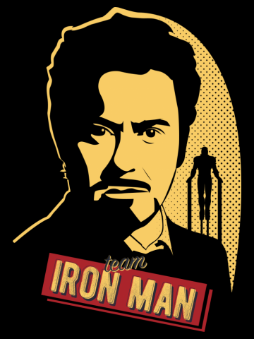 Team Iron Man (With Dots)