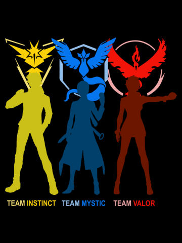 Team Mystic Valor Instinct