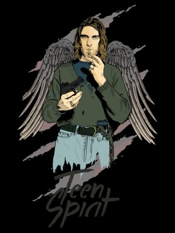 Teen spirit - Kurt Kobain Nirvana