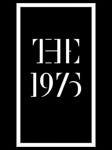 The 1975 - Framed Logo