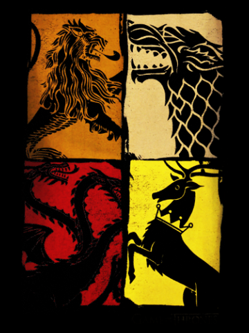 The 4 Powers - Game of Thrones