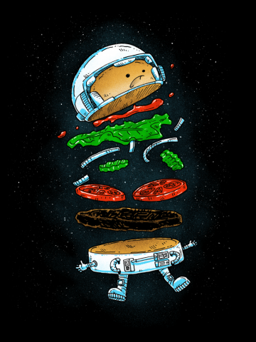 The Astronaut Burger