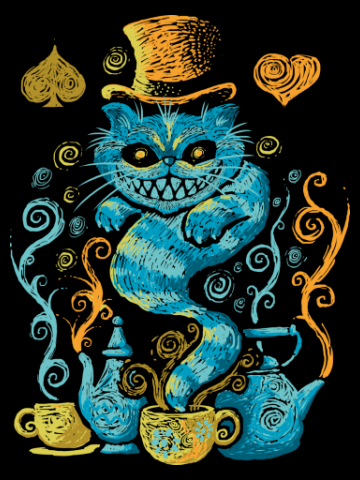 The Cat Art - Alice in tara Minunilor
