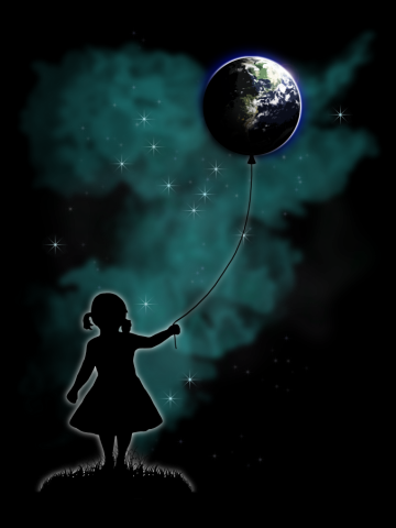 The Girl That Holds The World - Color