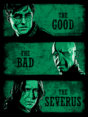 The Good, The Bad, The Severus - Harry Potter