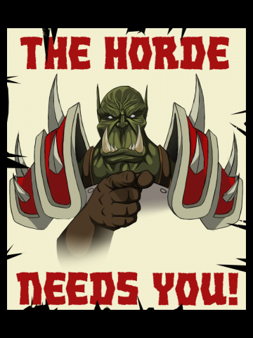 The Horde Needs You