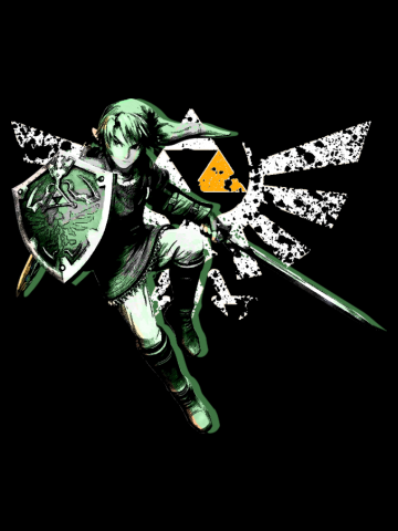 The Legend of Zelda - Triforce of Courage