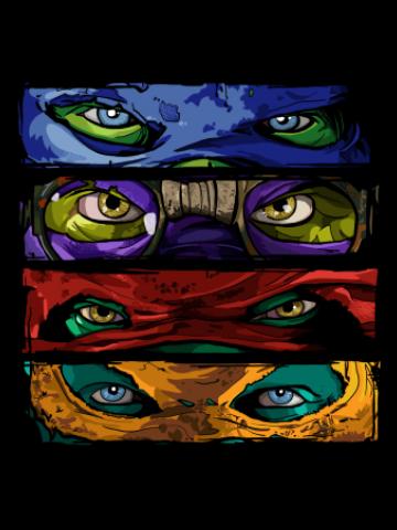 The Masks - Teen mutant Ninja