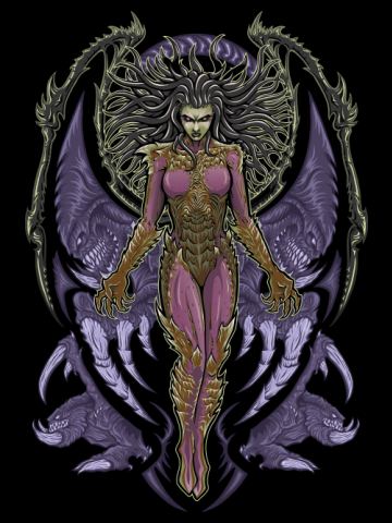 The Queen of Blades