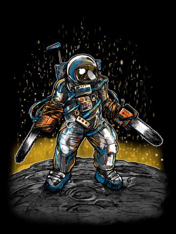 The Texas Chainsaw Astronaut