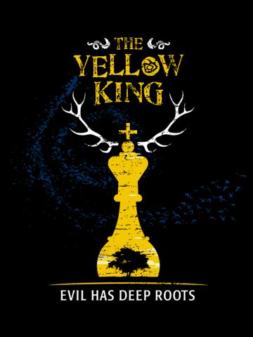 The Yellow King - Chess mockup