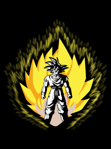 The almighty Goku