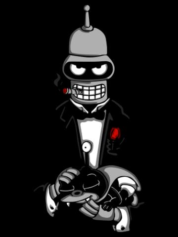 The bot father - Futurama