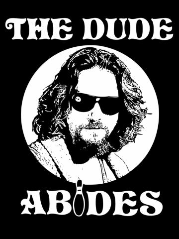 The dude abides