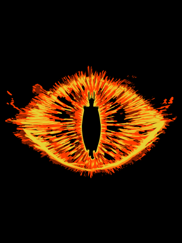 The evil eye - Lord of the Rings