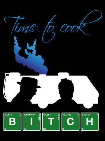 Time to cook... Bitch