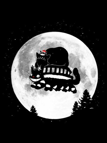 Totoro Merry Christmas