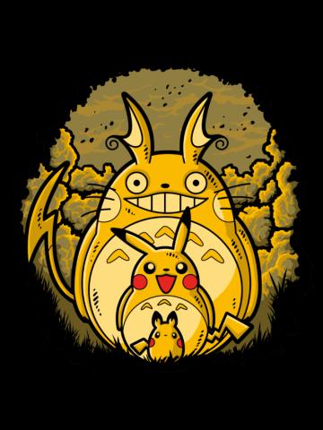 Totoro Pickachu