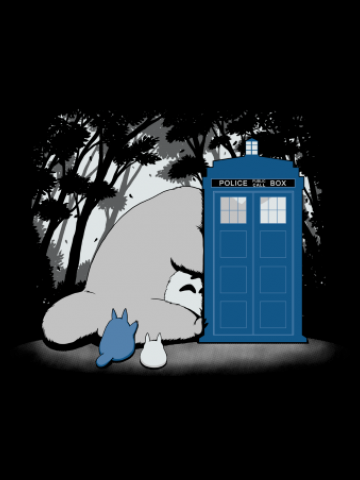 Totoro and the Tardis