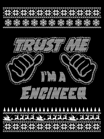 Trust Me, I'm An Engineer - Merry Christmas