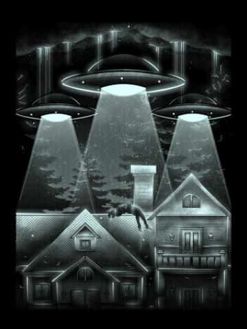 UFO Alien attack