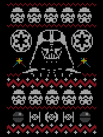 Ugly Dark Side Christmas Sweater