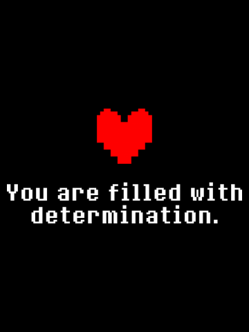 Undertale - Determination heart