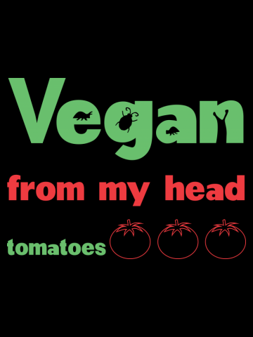 Vegan from my head to my toes