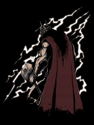 Viking Thunder God