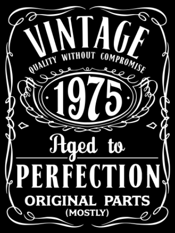 Vintage - Aged to Perfection