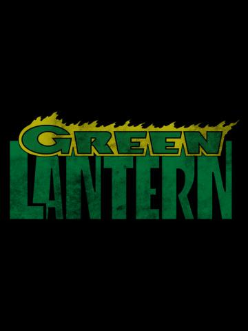 Vintage Green Lantern Logo