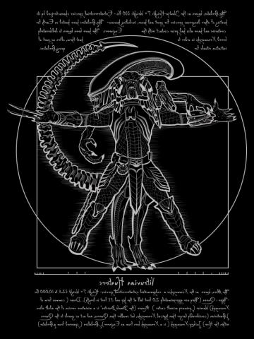 Vitruvian Hunters ( Negative)