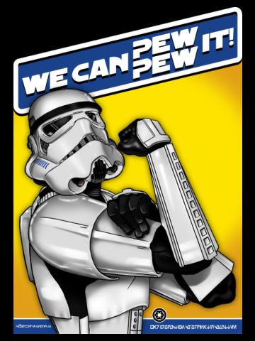 WE CAN PEW-PEW IT!