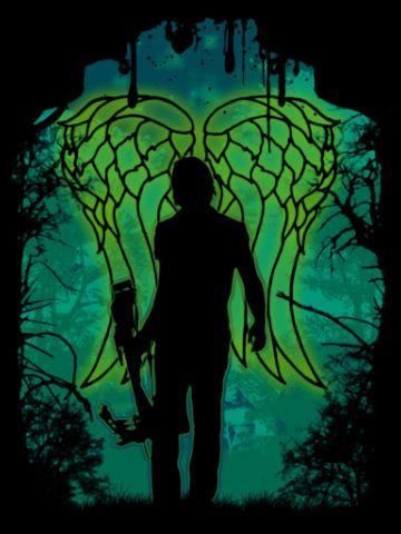 Walking angel - The walking dead