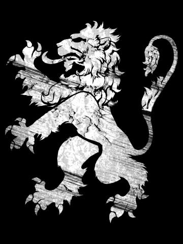 White Lion Rampant